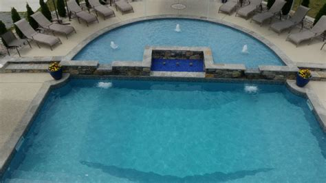 tanning ledges add  designers touch   pool