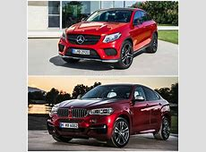 2015 BMW X6 vs MercedesBenz GLE Coupe the Battle of the