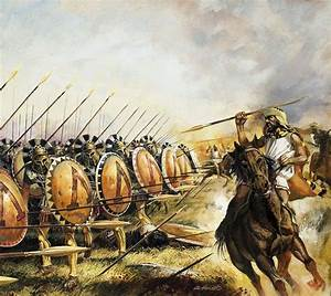 Spartan Army Drawing by Andrew Howat