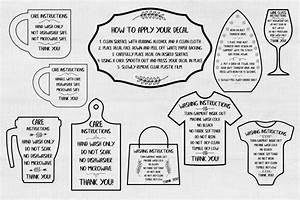 Care Card Svg Care Card Bundle Svg Care Instructions Svg