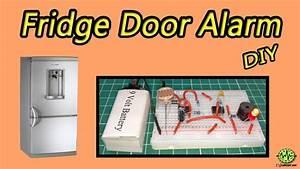 Fridge Door Alarm Circuit