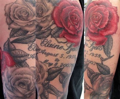 sleeve rose tattoos cool tattoos bonbaden