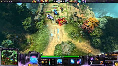 dota 2 gameplay spirit hd 1080p youtube