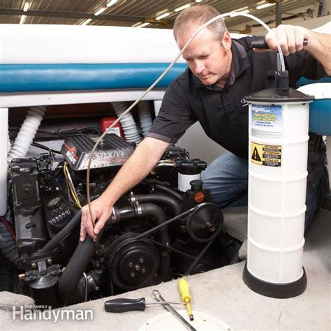 How To Winterize Inboard Boat Motor by Winterize Your Boat The Family Handyman