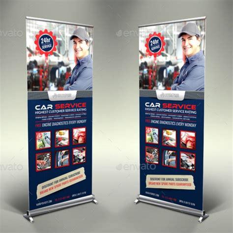car business roll  banner templates illustrator