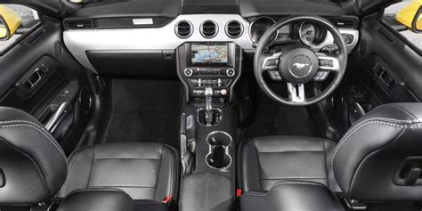 ford mustang interior this is what the new ford mustang is like to drive
