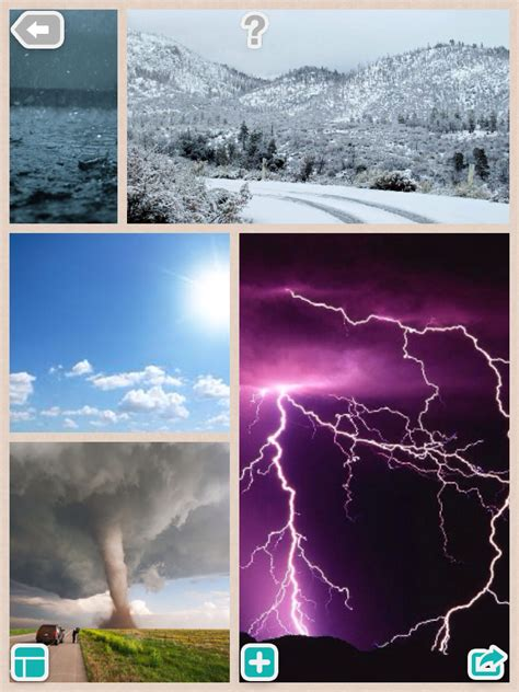 weather collage ks1 teachingcave teaching topic activities pic resources