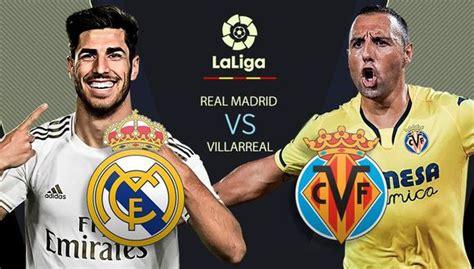 Real Madrid vs. Villarreal EN VIVO por el título hoy