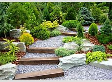 50 Ideen für Gartentreppe selber bauen leichter Zugang