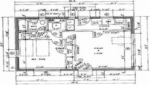 Architectural floor plans with dimensions architectural for Architectural plan sizes
