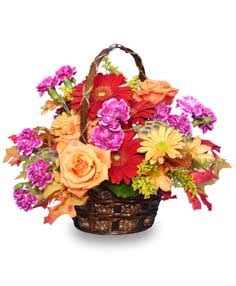 garden crescendo floral basket in rockford mi rockford