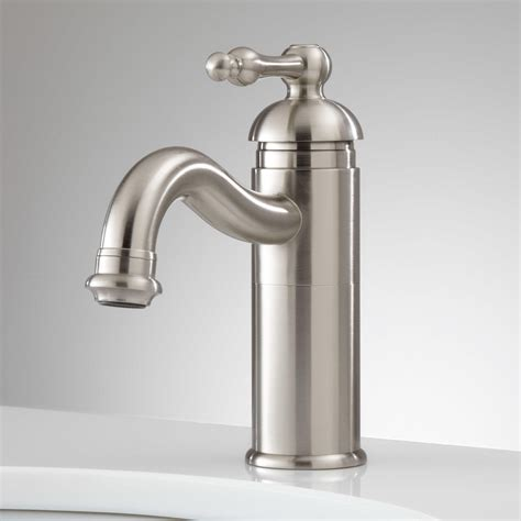 Single Faucet Bathroom Sink by Lebroc Single Bathroom Faucet With Pop Up Drain