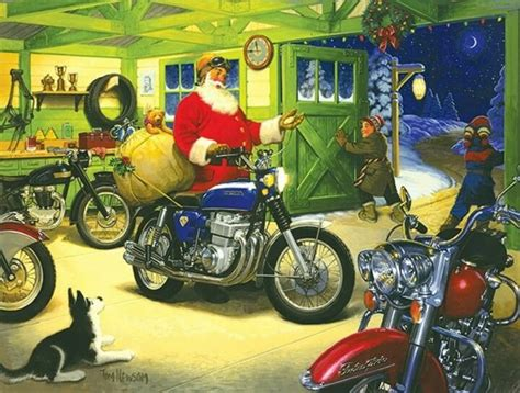 17 Best Images About Love A Bikers Christmas On Pinterest