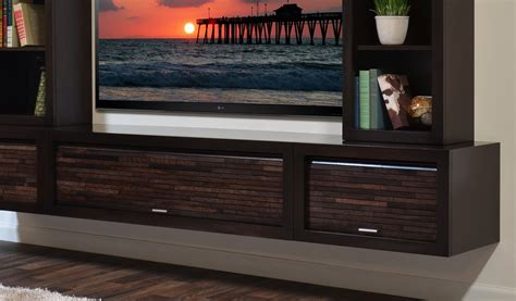 floating entertainment center tv stand eco geo espresso woodwaves