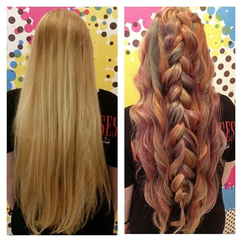 braid ombre hair hair colar  cut style