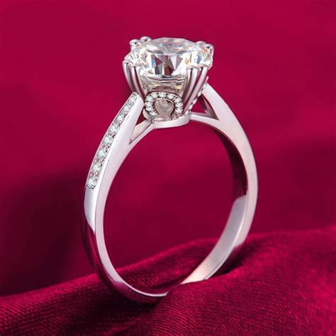 925 Sterling Silver Inlaid 2ct Highend Cubic Zirconia