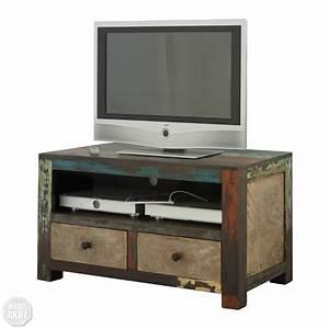 Tv Board Vintage : tv board goa lowboard in massivholz mango vintage used look multicolor neu ebay ~ Eleganceandgraceweddings.com Haus und Dekorationen