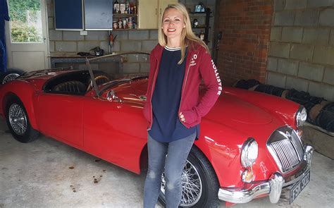 video  inherited  mga   classic car changed