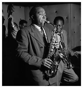 Charlie Parker, Three Deuces, New York, 1947 | © Jazzinphoto
