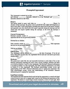 prenuptial agreement create a free prenup legaltemplates With free prenuptial agreement template canada