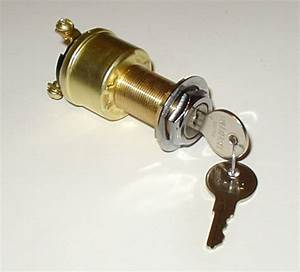 Marine Ignition Switch Cole Hersee M