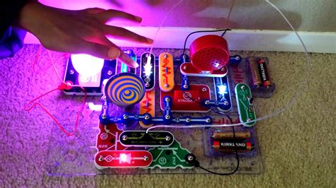Snap Circuits Light Scl Review Youtube