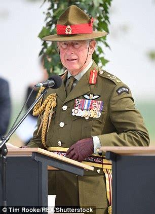 Prince Charles Military Service