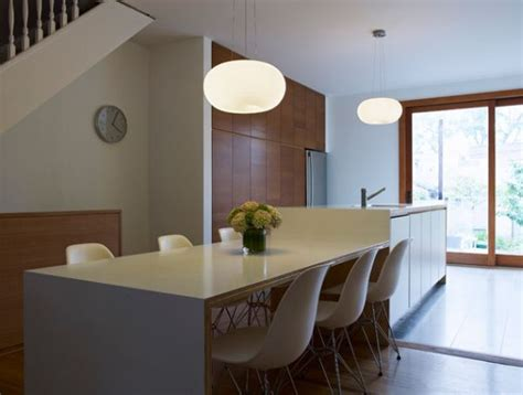 modern kitchen island table 30 kitchen islands with tables a simple but clever combo 7719