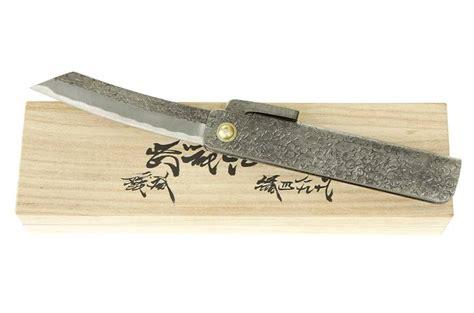 couteau de cuisine japonais gaignard millon couteaux japonais pliants higonokami