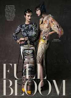 duchess dior quot full bloom quot by steven chee for harper s