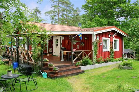 relax in a wooden cottage house with a beautiful garden 13