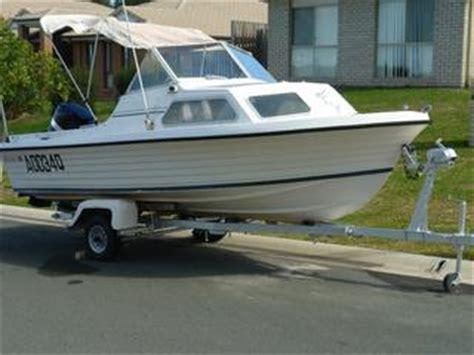 Half Cabin Boats For Sale Gold Coast by For Sale Easy Rider 510 Half Cabin Boat 90hp Gear Trailer