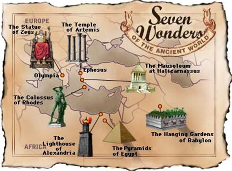 About The Seven Wonders of The Ancient World