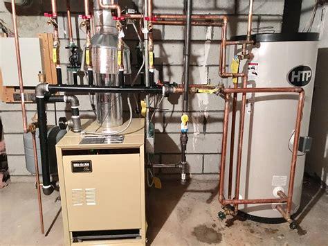 brand  weil mclain gas fired water boiler  heating