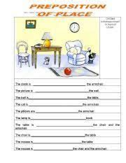 image result  prepositions  place activities