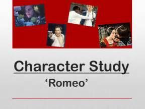 Romeo And Juliet Character Analysis Romeo By