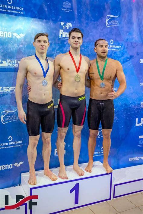 RTU students peldējumā brasā izcīna zeltu Baltijas čempionātā   RTU Sporta centrs