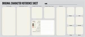 Resume Writing Templates Free Oc Sheet Template By Zippora Deviantart Com On Deviantart