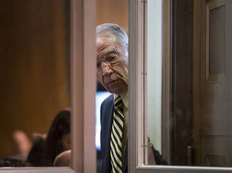 Chuck Grassley is continuing his surprisingly long feud