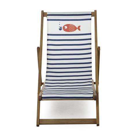 chaise longue de jardin chilienne motif marini 232 re pour