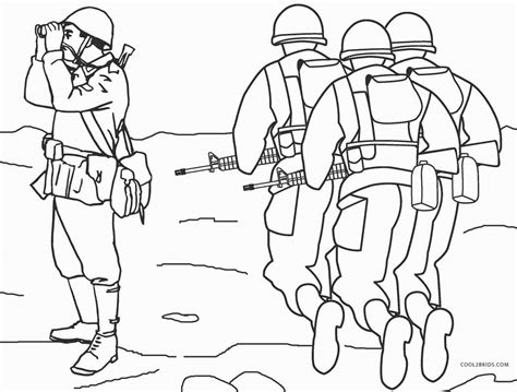 printable army coloring pages  kids coolbkids