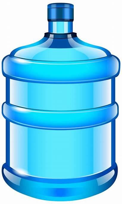 Bottle Water Clipart Clip Bottled Bottles Bin