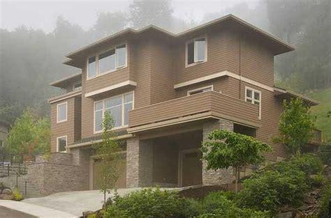 House Plan For Hillside Views