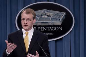 File:Press Secretary George E. Little briefs the media ...