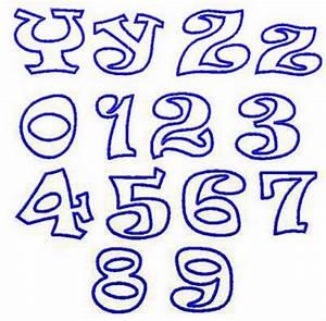 graffiti_es: Graffiti Letters And Numbers