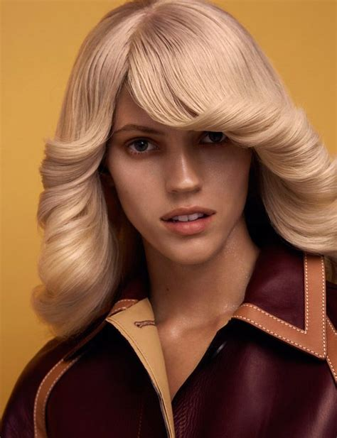 Popular 70s Hairstyles by Nostalgic Couture Portraits Hairstyle 70s Hair Disco