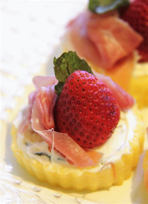 fruit canapes stranded in cleveland 39 s day brunch menu brunch