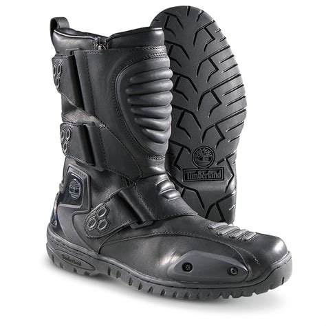 biker boots for 39 s timberland downshifter biker boots black 136463