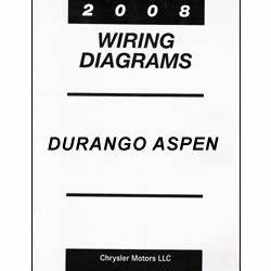 2008 Dodge Durango And Chrysler Aspen  Hb  Hg  Wiring Manual