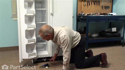 refrigerator repair replacing  light switch ge part wrx youtube